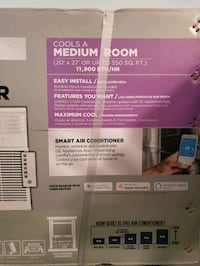GE Smart 11,900 BTU Window Air Conditioner