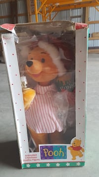 Winnie the Pooh doll with box Delhi charter Township, 48842