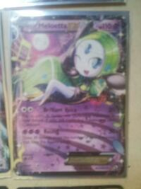 Pokemon Trading card game Meloetta EX Downey, 90242