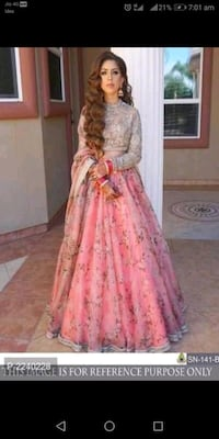 women's pink and white floral dress Ahmedabad, 382470