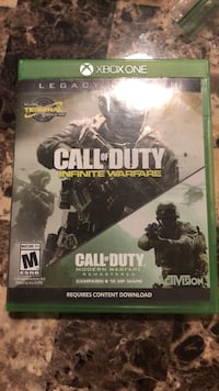 Call of Duty Infinite Warfare Xbox One game case Dunellen, 08812