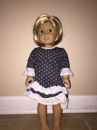 Dolly and Me Doll Dress (Fits American Girl Doll) Union