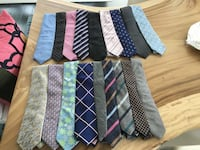 $40 each. most ties are $150+ and have never been worn. Toronto, M5W