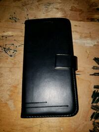 BRAND NEW BLACK LEATHER WALLET STYLE PHONE CASE  Montreal, H9H 1E3
