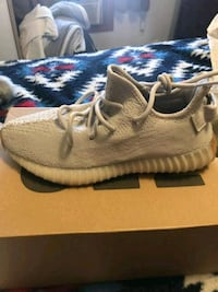 pair of brown adidas Yeezy Boost 350 shoes with bo Bronx, 10473