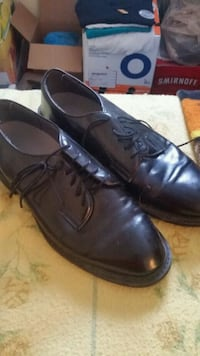 pair of black leather dress shoes Frederick, 21703