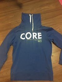 blue and white Adidas pullover hoodie Edmonton, T5B 2L6