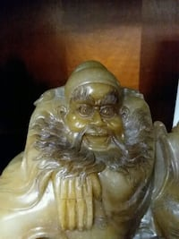antique solid jade hand carved poet  Costa Mesa, 92626