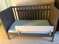 IKEA Sundvik Mini Crib in Grey-Brown Alexandria, 22314