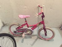 toddler's pink and white bicycle London, N6G 3B2