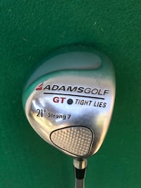 Adams Tight Lies 21 Degree Loft Strong 7 Wood, Uniflex