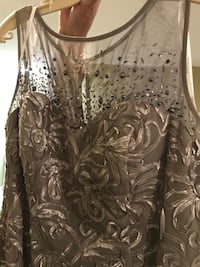 New grey Laura dress/gown Calgary, T3E