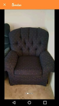 Floral chair in great shape non smoking Marietta, 30062