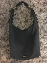 black leather hobo bag