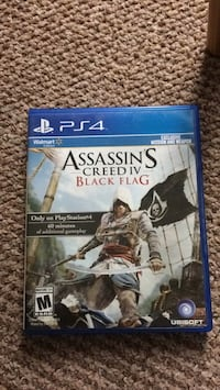 Sony PS4 Assassin's Creed IV Black Flag case Lichfield, WS14 9XS