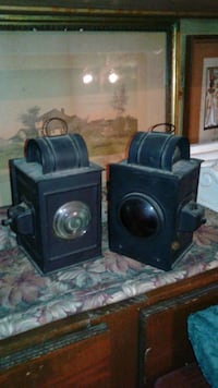 Vintage buggy lamps