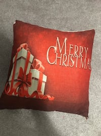 6 Christmas decorative pillow case cover