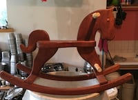 Hand crafted rocking horse Laval