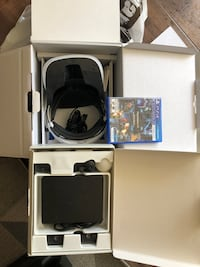Sony vr origin box used only few times  Mississauga, L5N 1Z1