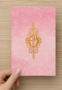 Personalized vintage 10 pack stationery Vaughan