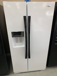 Whirlpool Side By Side Refrigerator (Used)  Houston, 77041