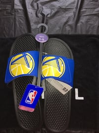 Father's Day Gift!!! Golden State Warriors Slides 11-12 men's New Orleans, 70125