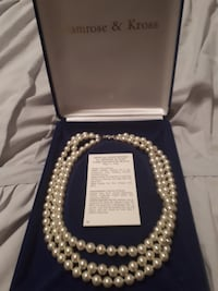 Camrose and Kross Jacqueline Kennedy pearls TORONTO