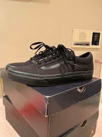 Vans shoes (All black) size 9.5 Beaconsfield, H9W 2M3