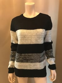 Black and grey sweater  Toronto, M6A 1N2
