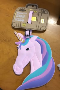 Unicorn Luxury Luggage Tag XXL