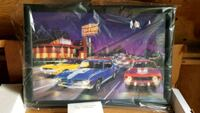 """Lighted picture, Dragway,12x18"""" Portland, 97267"""