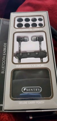 Sentry stereo bluetooth earbuds
