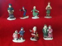 7 Christmas Figurines for Your Christmas village display  Brantford, N3R 0A1