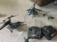 2 remote control helicopters North Vancouver, V7L