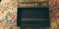 New mens bi fold genuine leather Timberland wallet Point of Rocks