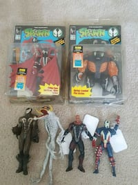 Vintage spawn action figure lot Beech Grove, 46107