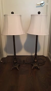A pair of vintage tall lamps Toronto, M4X 1L1