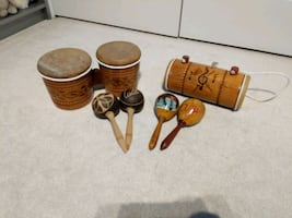 Souvenir Drums and Maracas