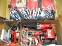 Milwaukee M18 FUEL ONE-KEY Lithium-Ion Brushless Cordless Combo Kit Packout Case null