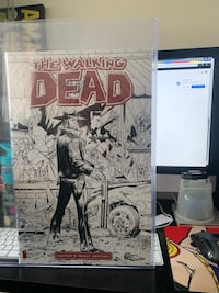 Walking Dead 1 AP signed Tony Moore Toronto, M3J 1P5