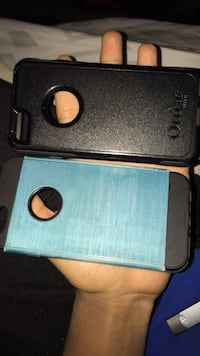 iPhone 6/6/s cases $10 for the blue $12 for otter box Maryville, 37801