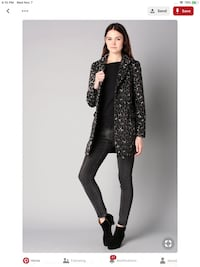 New price!!!Trendy Vero Moda Coat size M