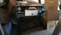 Gray general electric rotisserie oven box Colorado Springs, 80905