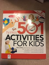 TV-Free 501 Activities For Kids book