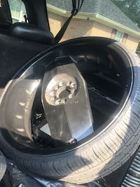 24 inch blades with new tires 800obo or trade for chrome 24 Augusta, 30906