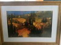 brown wooden framed painting of people San Jose, 95123