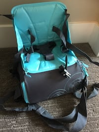 Travel booster seat (Brand new) Fixed price  Calgary, T2K 0W1