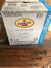 Pennzoil OW-20 case of 6 Falls Church, 22042