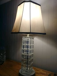Crystal table lamp Wichita, 67210