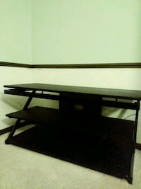 black wooden TV stand with mount Fort Wayne, 46835